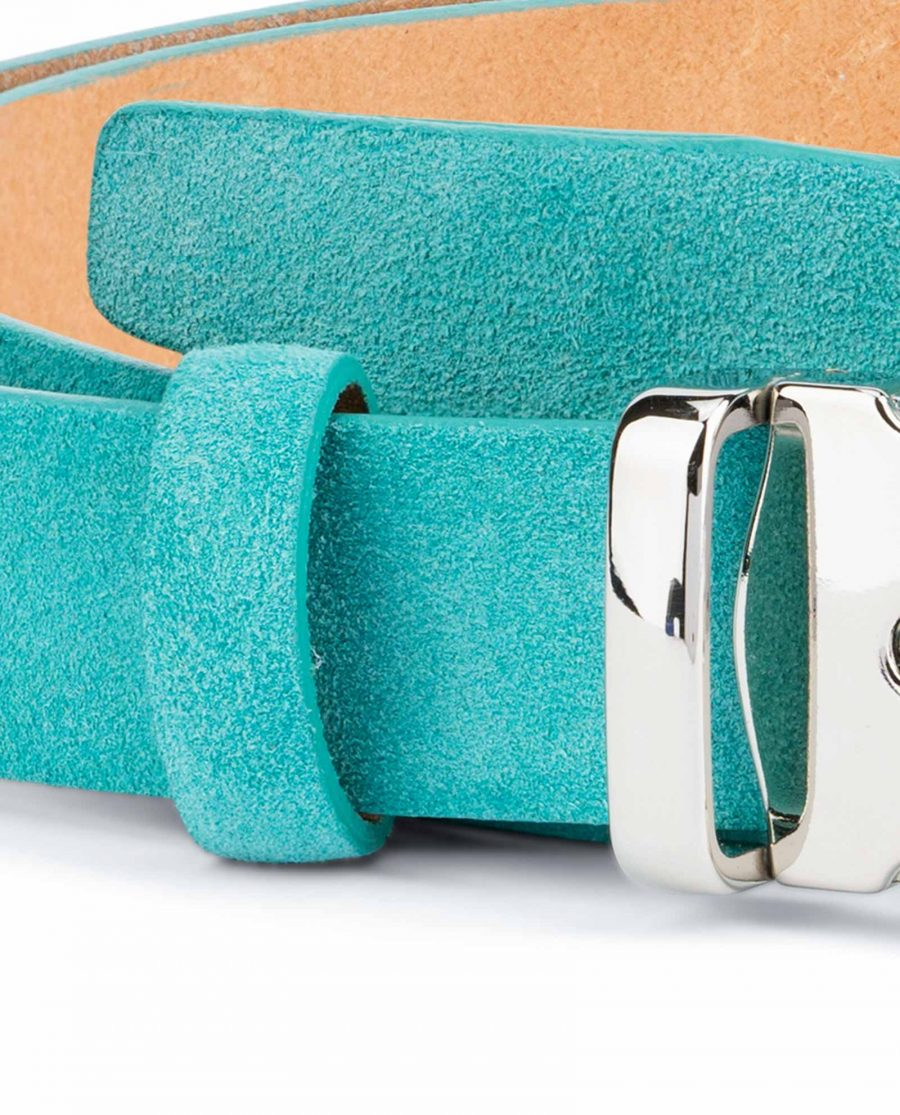 Thin-Turquoise-Belt-Square-Buckle-1-inch-High-quality