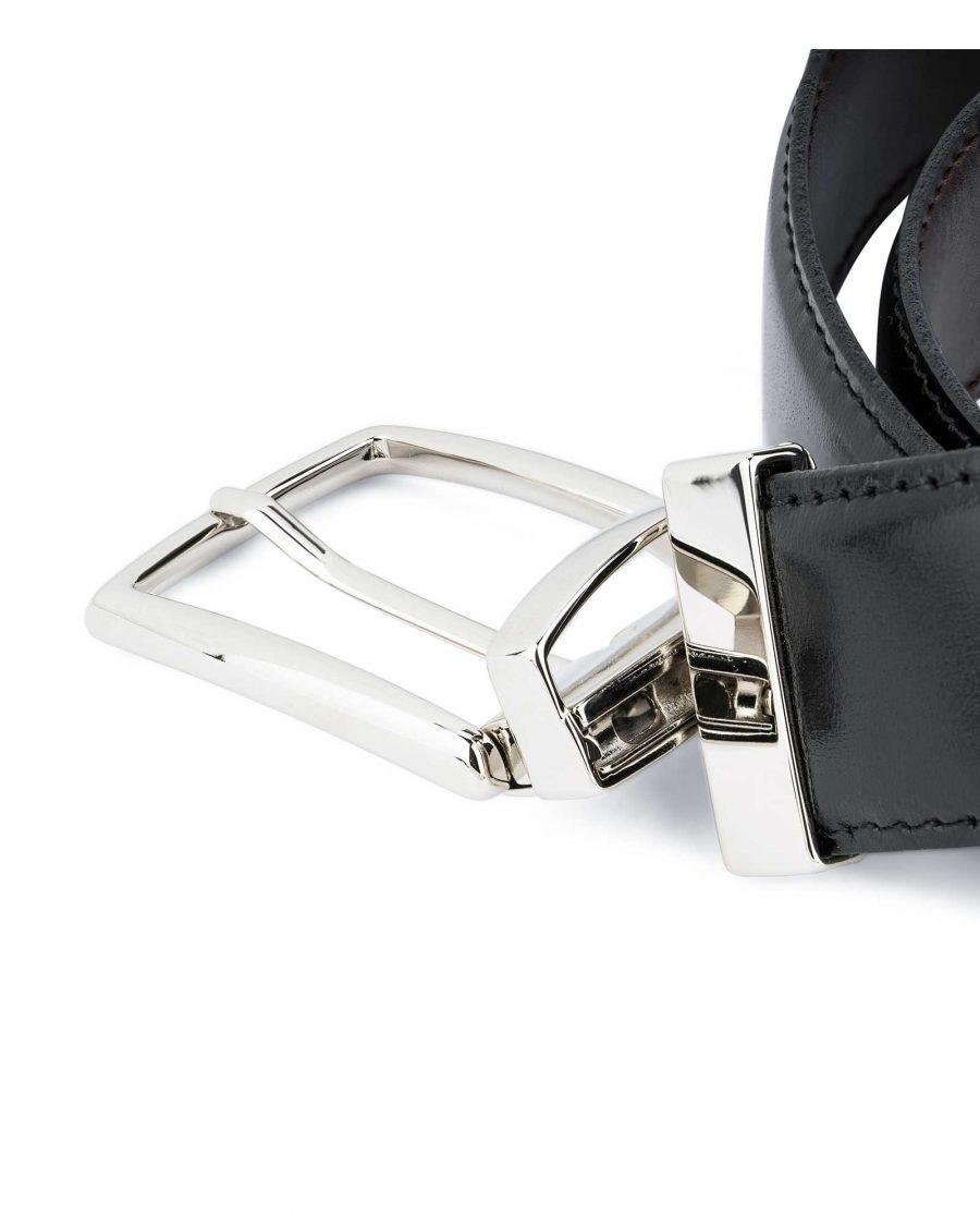 Twist-Reversible-Leather-Belt-Black-Brown-Capo-Pelle-Mechanism