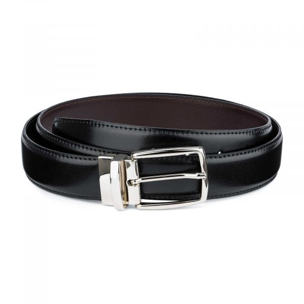 Twist-Reversible-Leather-Belt-Black-Brown-Capo-Pelle-Mian-image