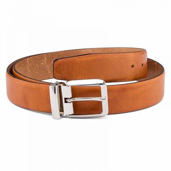 Veg-Tan-Belt-Black-Edges-Italian-buckle