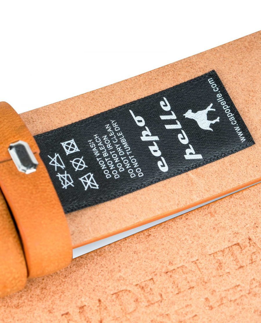 Vegetable-Tanned-Leather-Belt-Strap-Replacement-Care-label