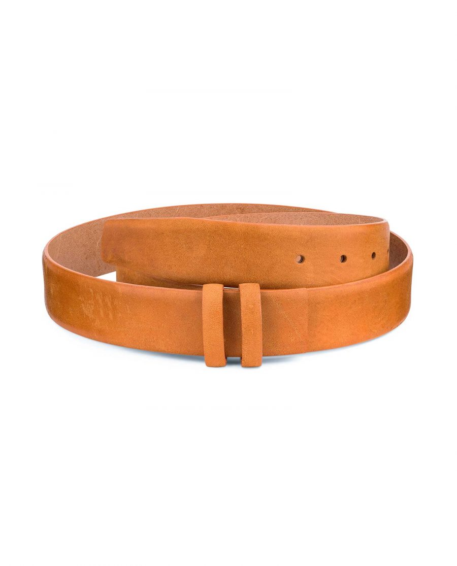 Vegetable-Tanned-Leather-Belt-Strap-Replacement-Main-image