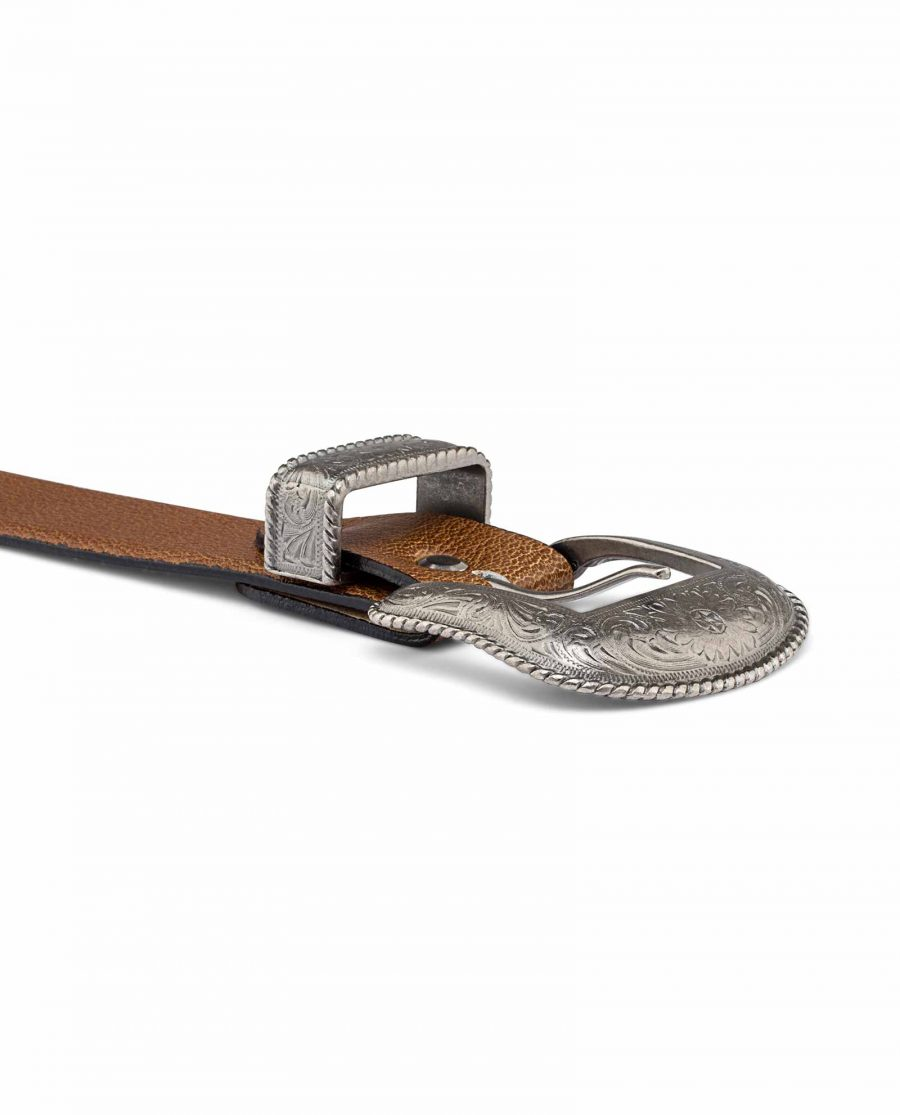 Western-Leather-Casual-Belt-Buckle-image