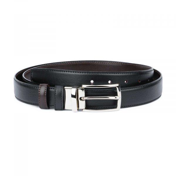 Black Brown Reversible Belt Men's 30 mm Capo Pelle.jpeg
