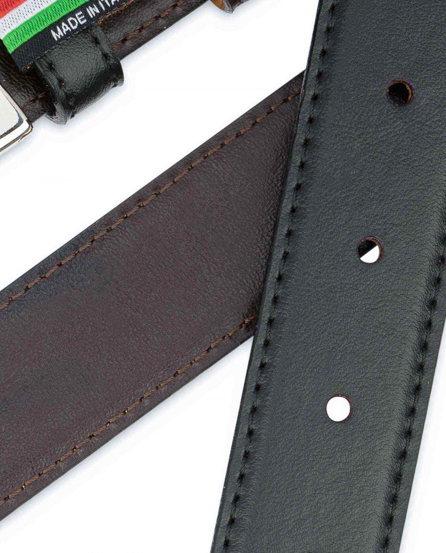 Black-Brown-Reversible-Belt-Mens-30-mm-Two-colors