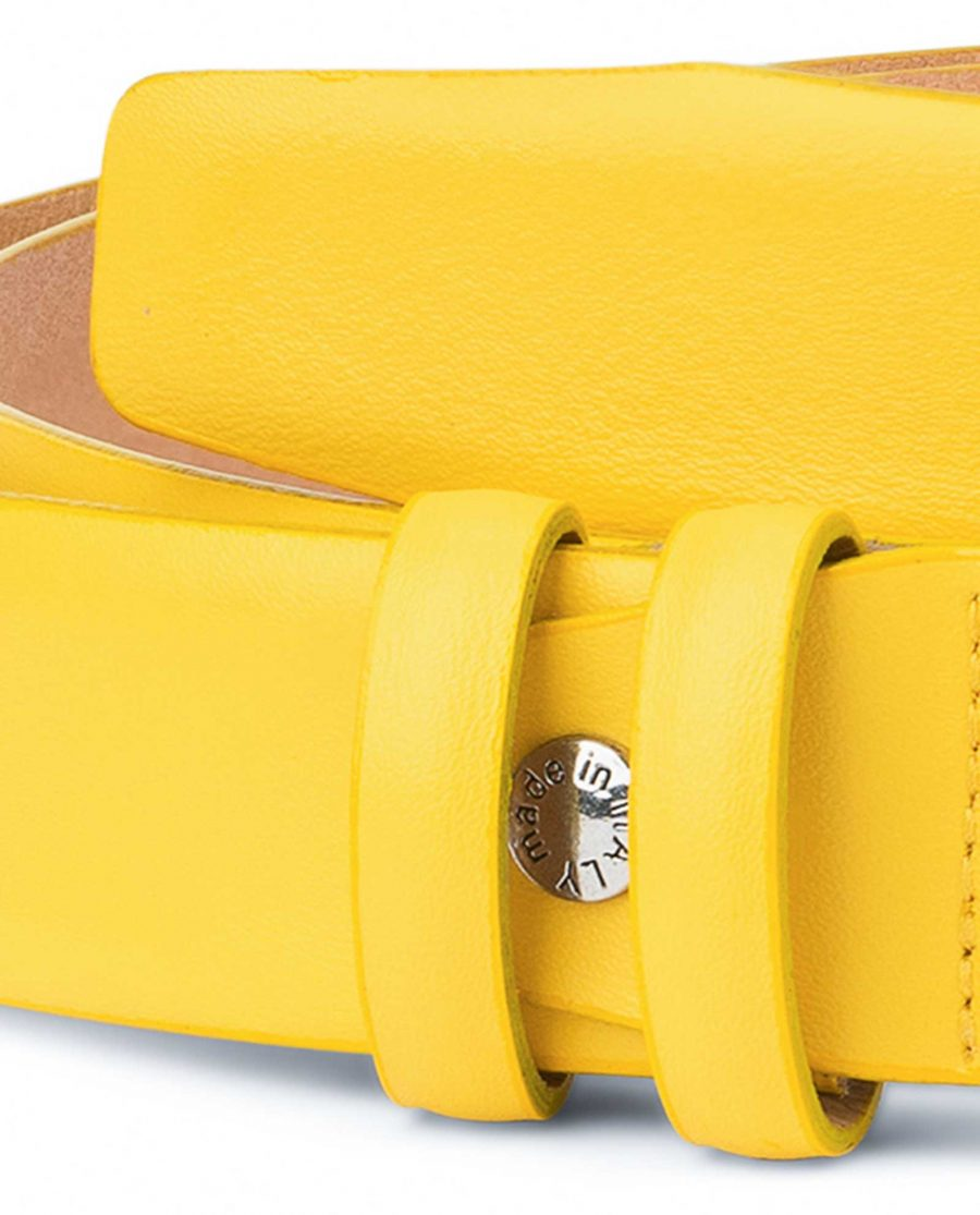 Mens-Yellow-Leather-Belt-For-Jeans-Luxury-designer