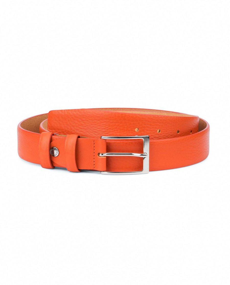 Orange-Leather-Belt-Soft-and-Luxury-Capo-Pelle