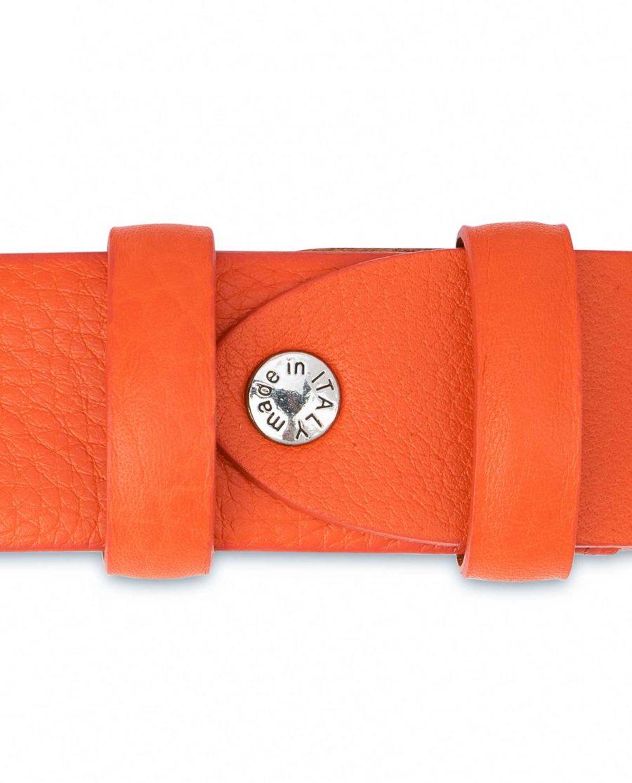 Orange-Leather-Belt-Soft-and-Luxury-Screw