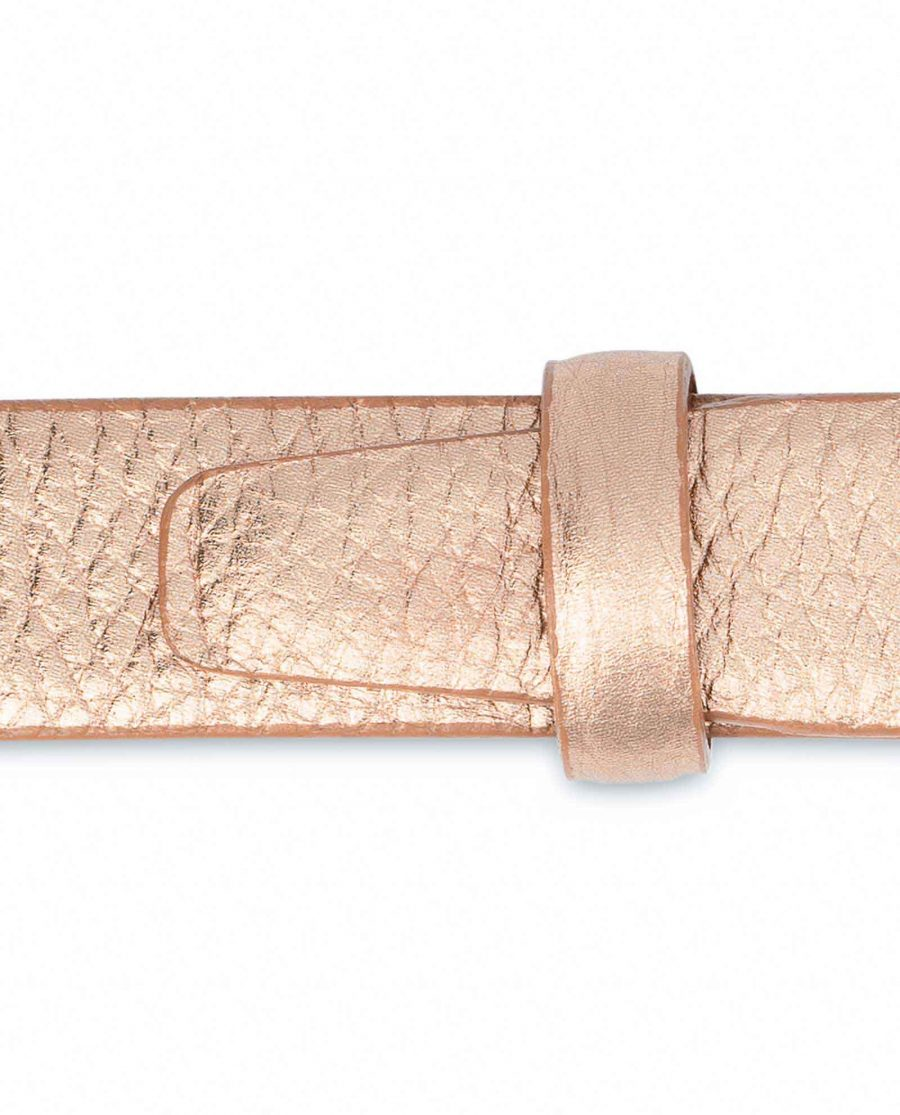 Rose-Gold-Belt-for-Dress-Square-Buckle-Italian-leather