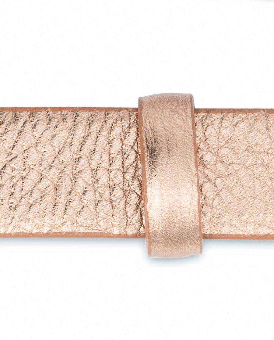 Rose-Gold-Belt-for-Dress-Square-Buckle-Loop