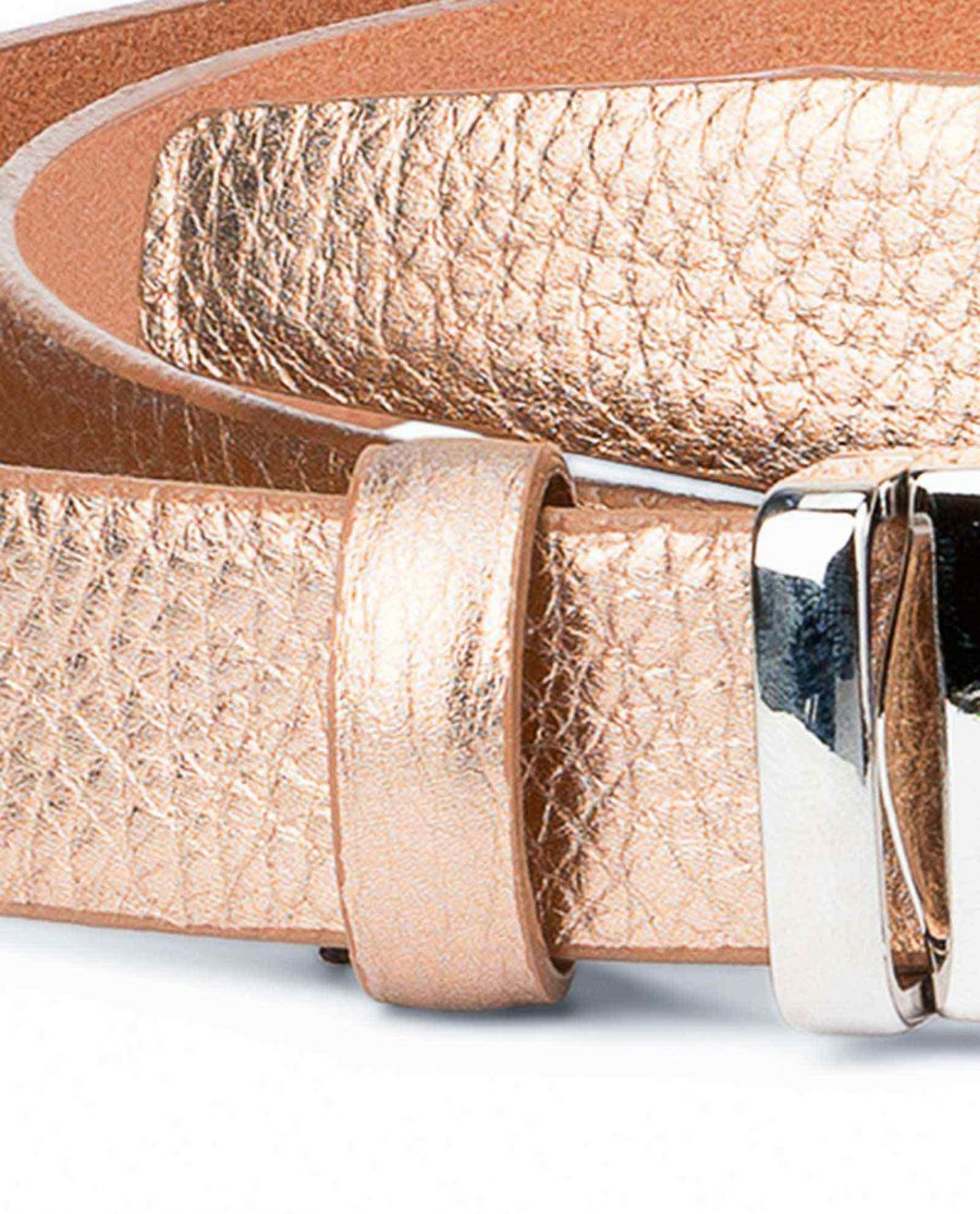 Rose-Gold-Belt-for-Dress-Square-Buckle-Luxury-quality