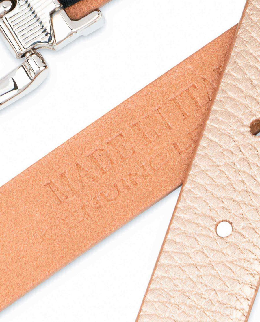 Rose-Gold-Belt-for-Dress-Square-Buckle-Made-in-Italy