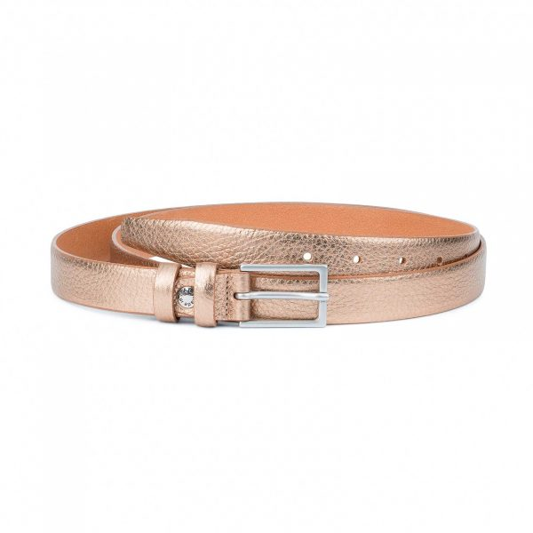 Wedding-Dress-Belt-Rose-Gold-Thin-1-inch-Capo-Pelle