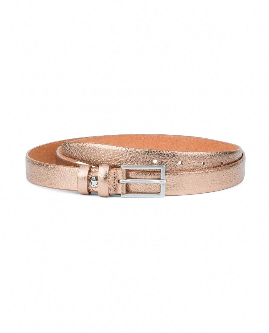 Wedding-Dress-Belt-Rose-Gold-Thin-1-inch-Capo-Pelle