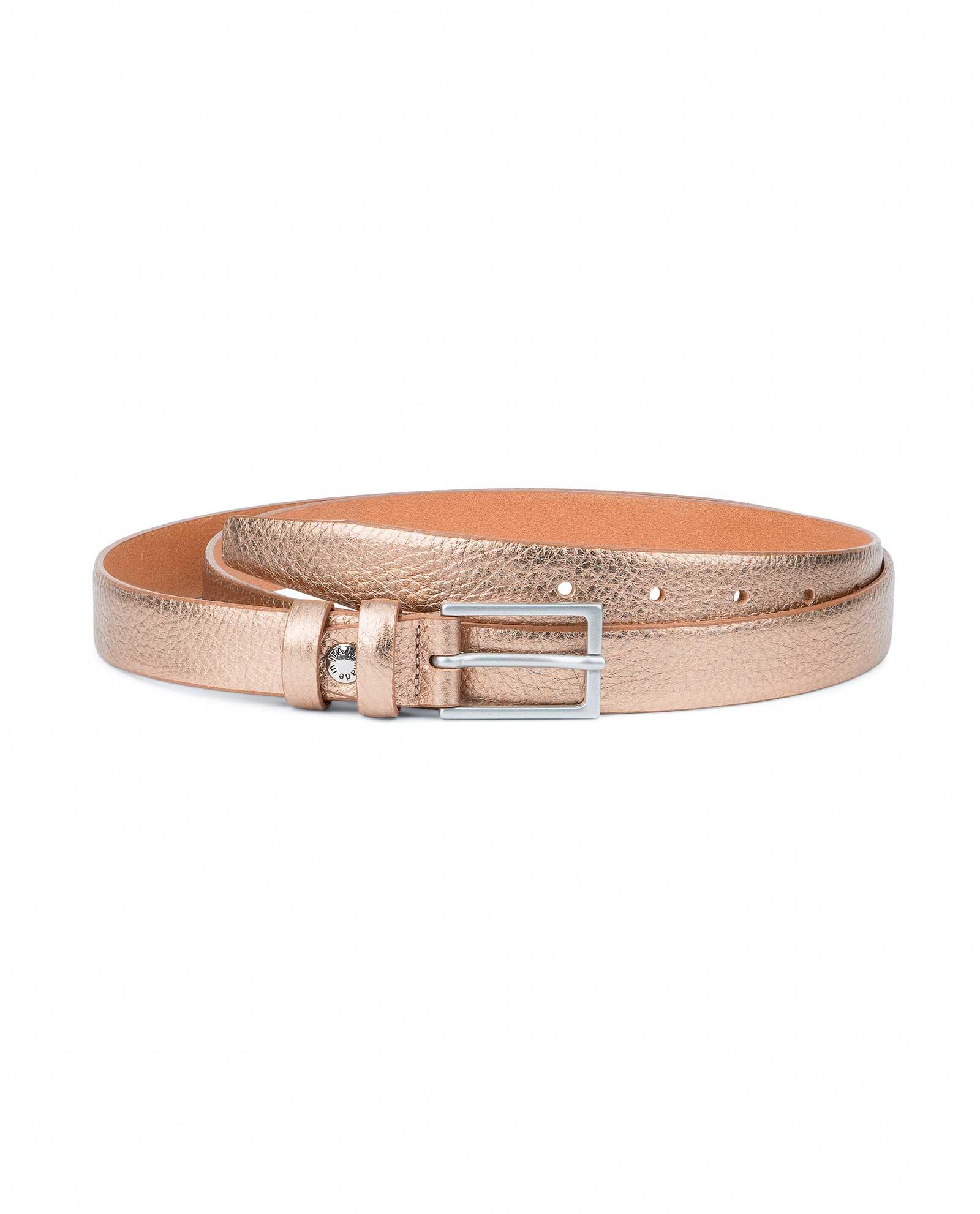 Buy Wedding Dress Belt Rose Gold Leatherbeltsonline Com