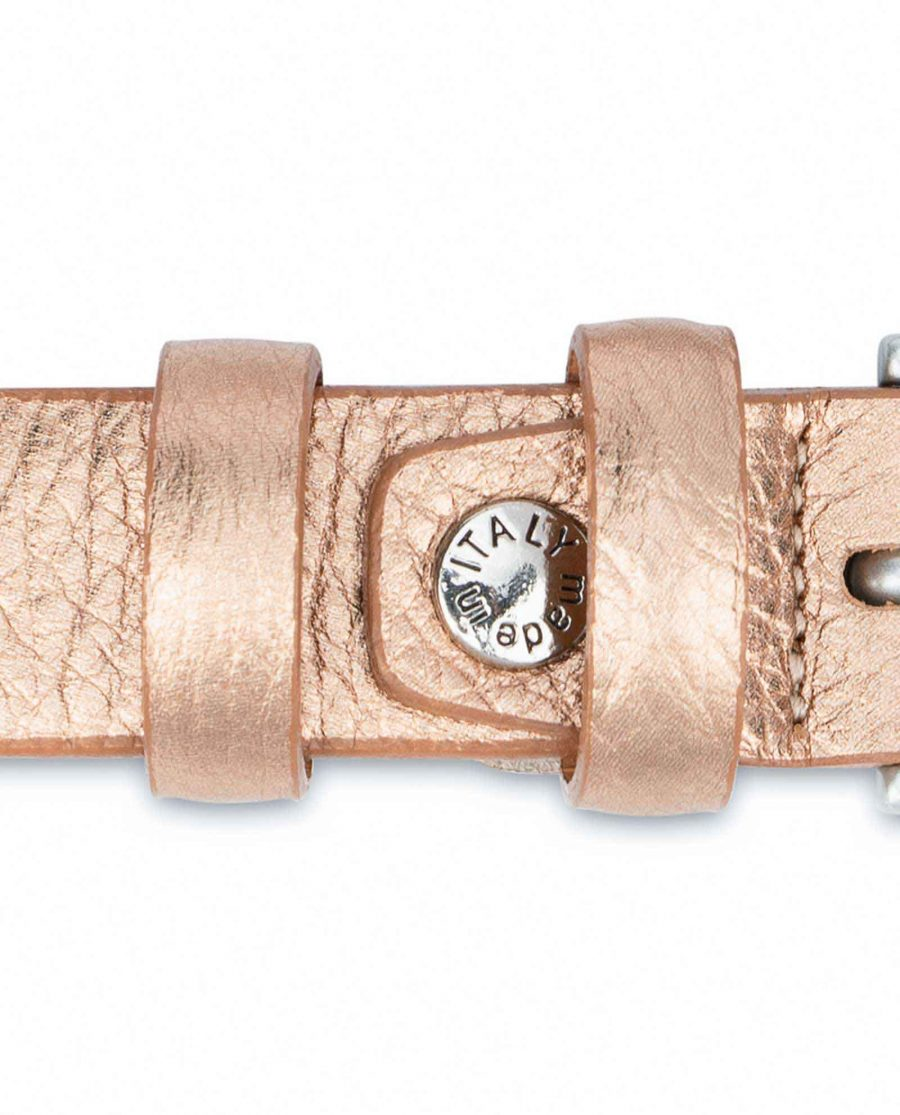 Wedding-Dress-Belt-Rose-Gold-Thin-1-inch-Screw