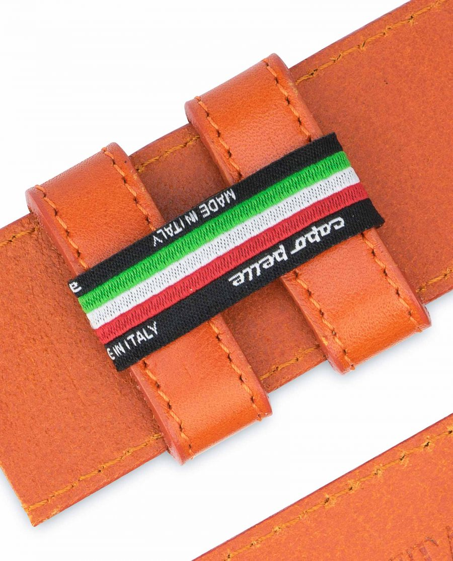Wide-Belt-Without-Buckle-Vegetable-Tanned-Leather-Capo-Pelle