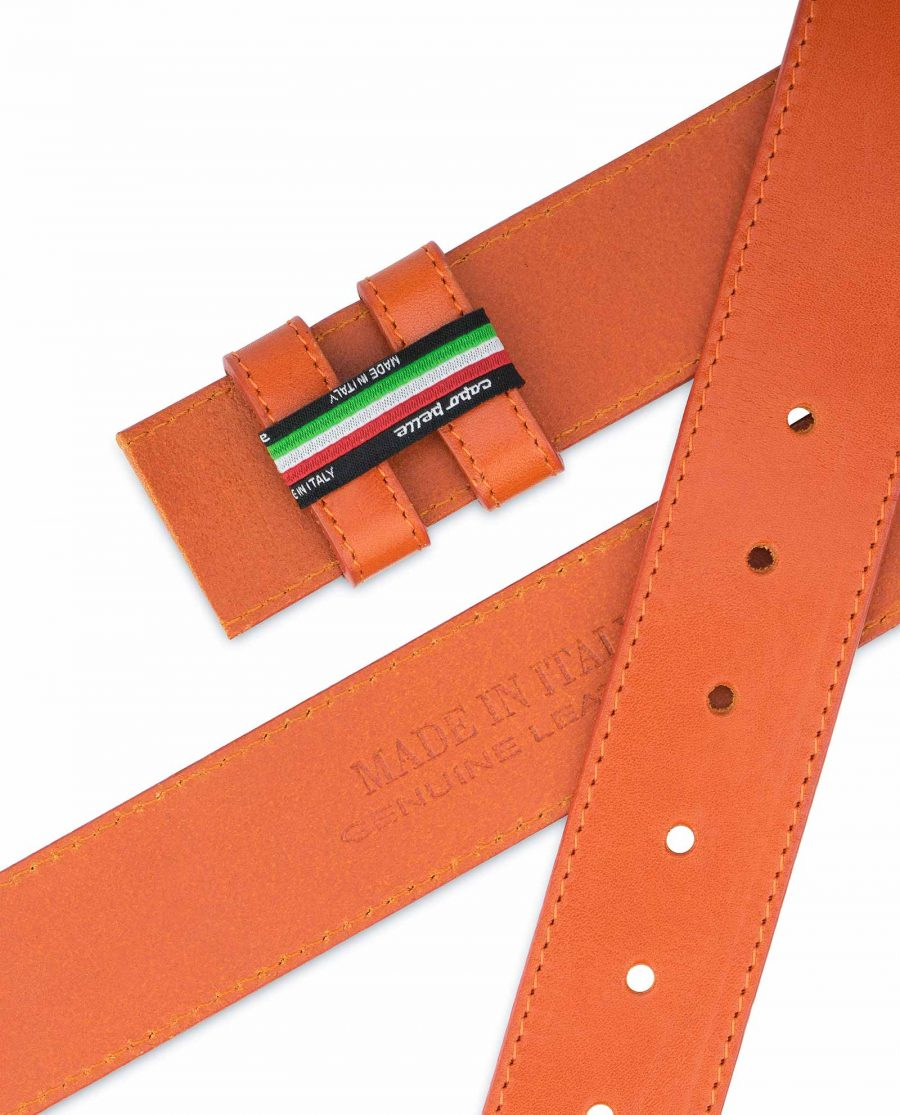 Wide-Belt-Without-Buckle-Vegetable-Tanned-Leather-Holders