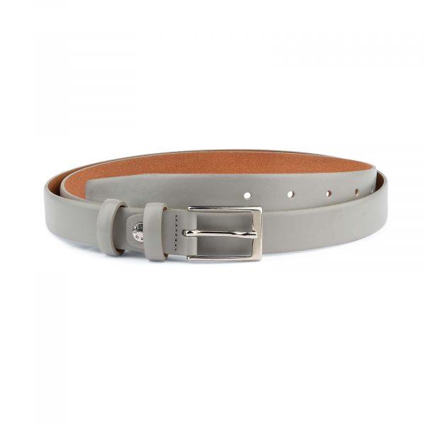 1-inch-Gray-Belt-Mens-Designer-Capo-Pelle