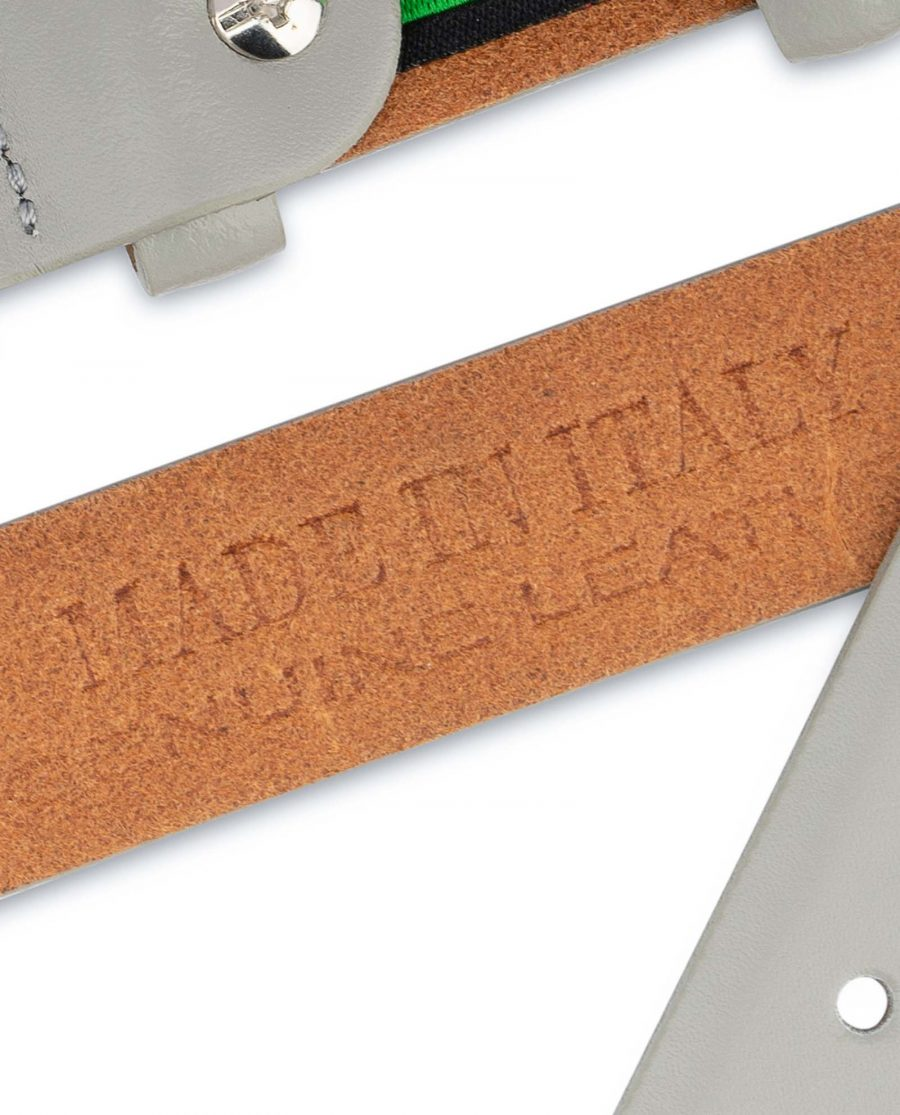 1-inch-Gray-Belt-Mens-Designer-Genuine-leather