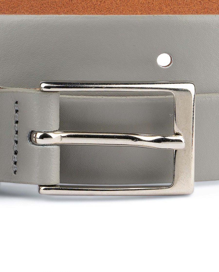 1-inch-Gray-Belt-Mens-Designer-Nickel-buckle