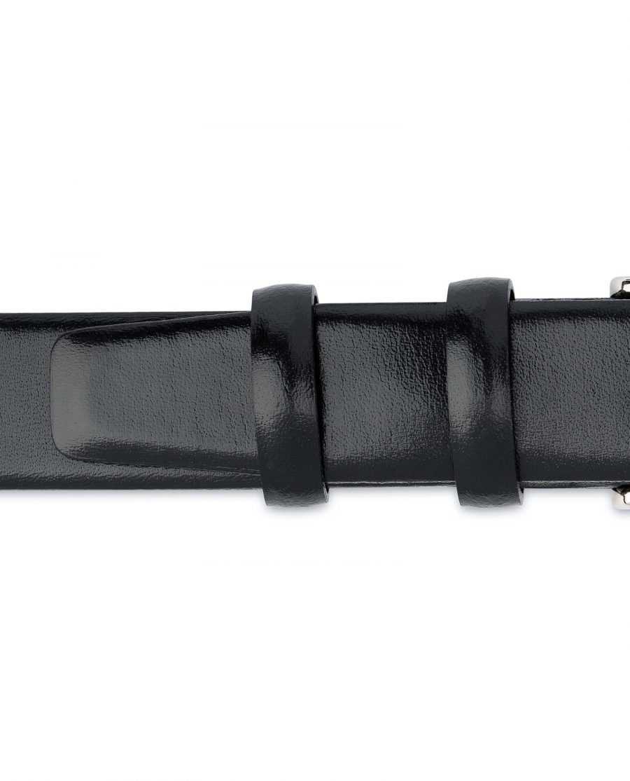 Mens-Black-Leather-Belt-With-Silver-Buckle-Loops