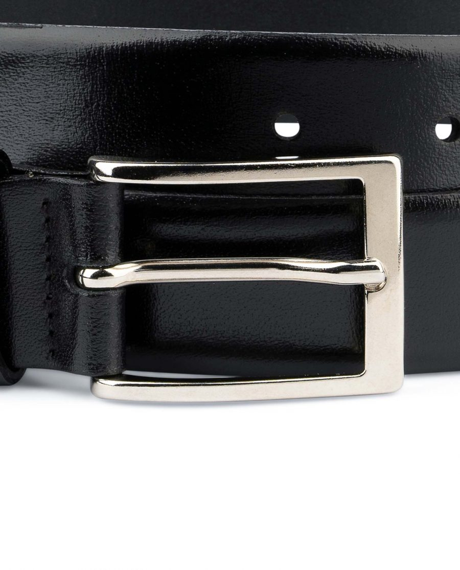 Mens-Black-Leather-Belt-With-Silver-Buckle-Rectangle