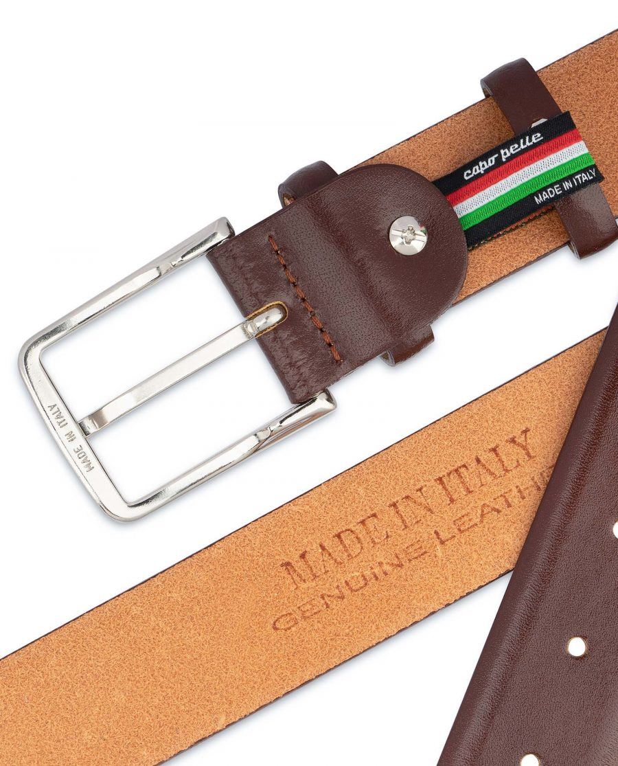 Mens-Cognac-Belt-Genuine-Leather-Made-in-Italy
