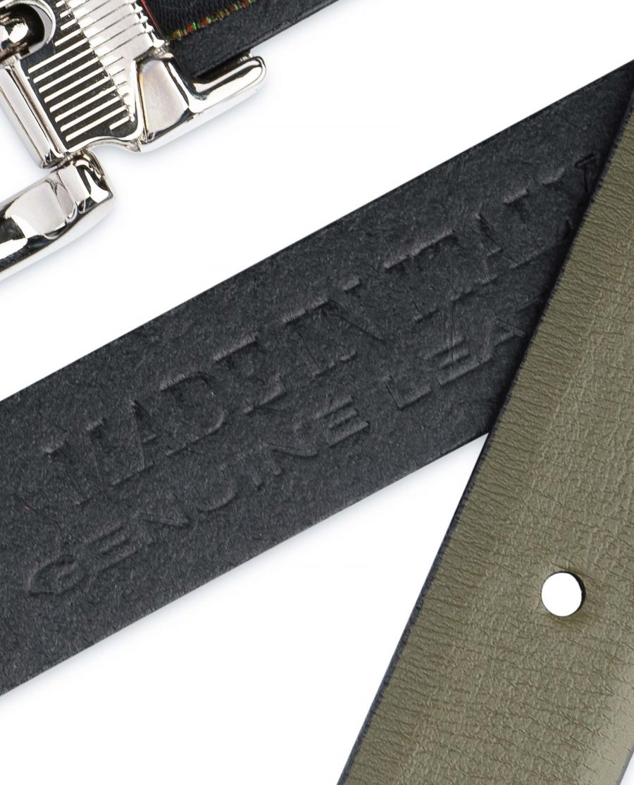 Olive-Green-Belt-For-Dresses-1-inch-Leather-Smooth