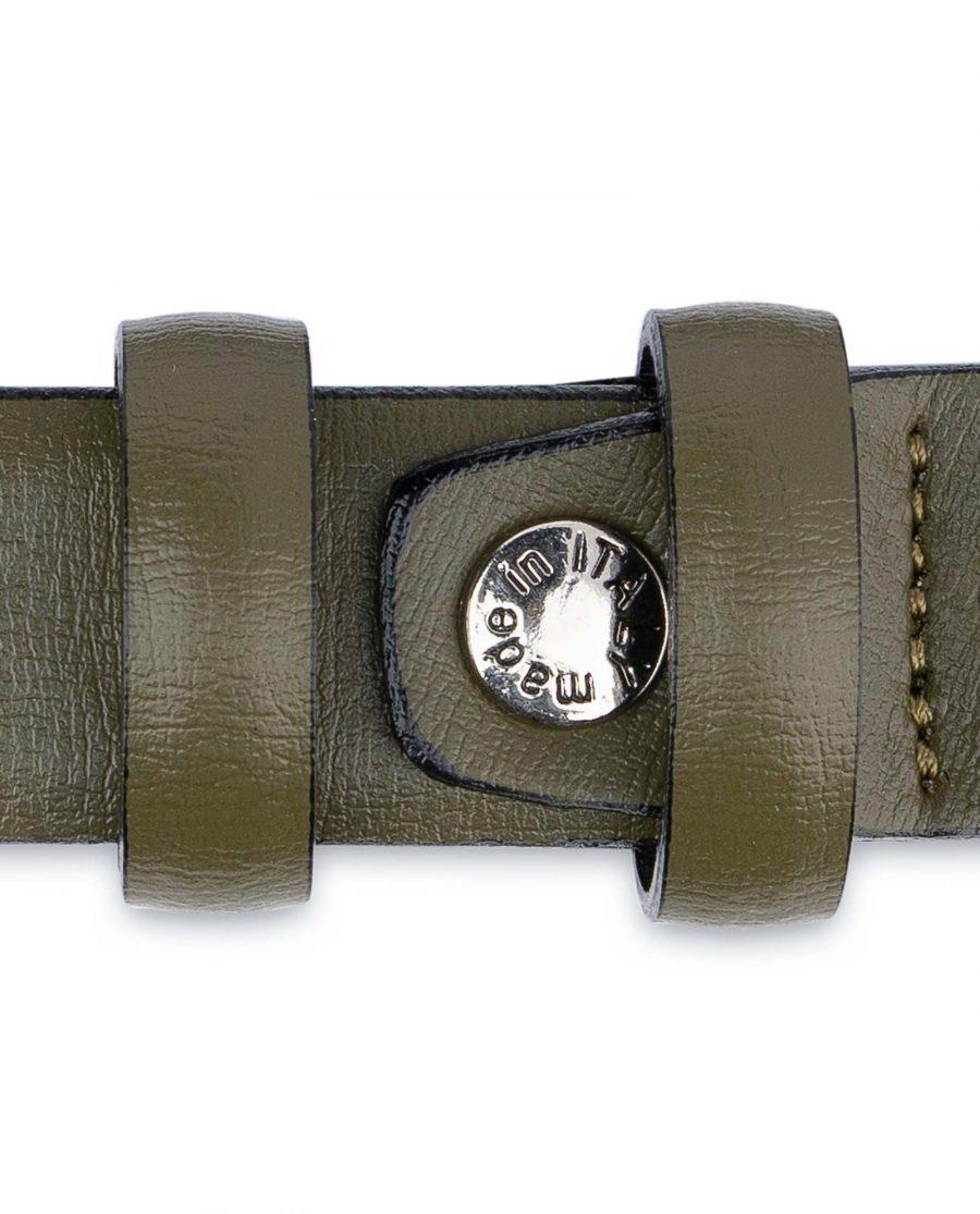 Olive-Green-Belt-Mens-Thin-1-inch-Screw