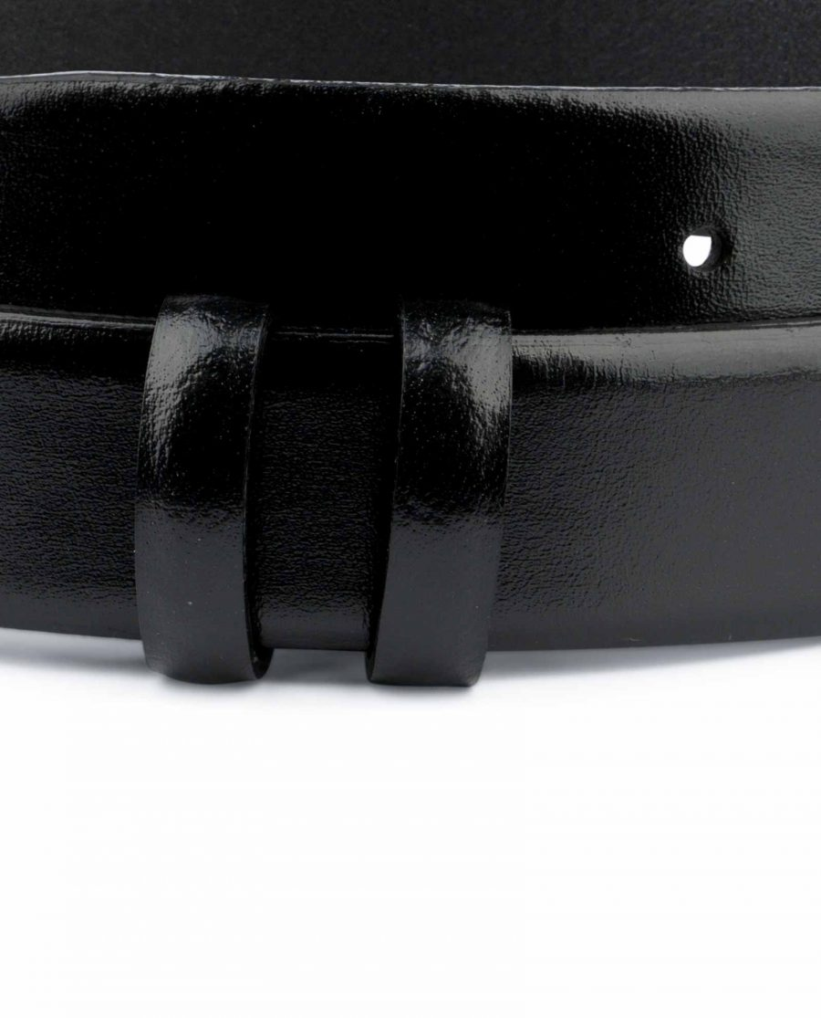 Black Mens Belt for Buckles 1 1 8 inch Replacement Strap