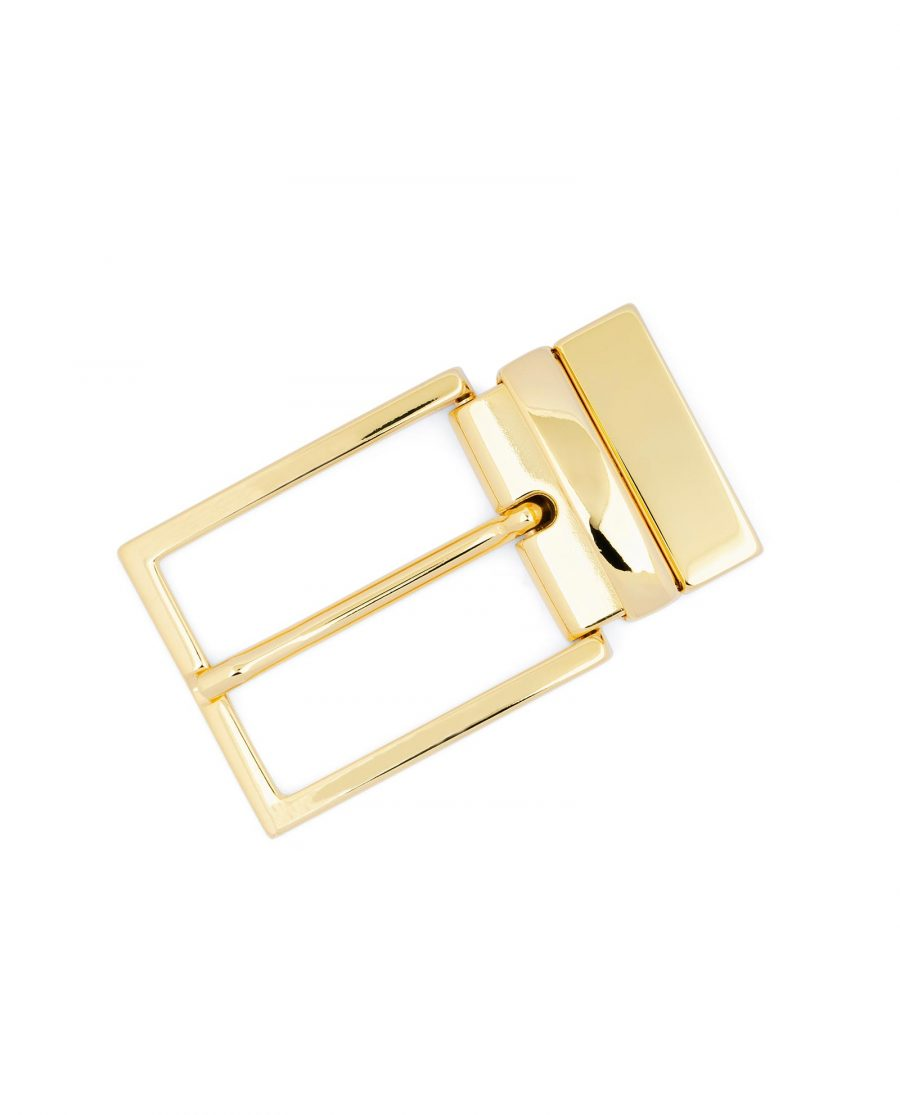 Reversible Gold Belt Buckle For Men 1 3 8 inch Best