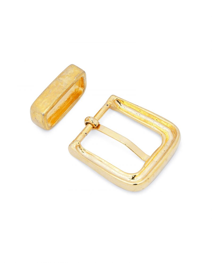 Gold Belt Buckle Mens Western Style 4