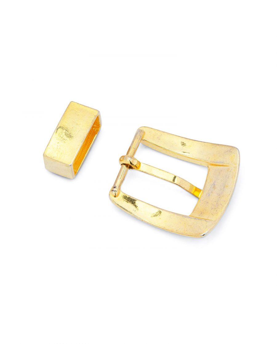 Golden Belt Buckle 1 Inch Wide 4