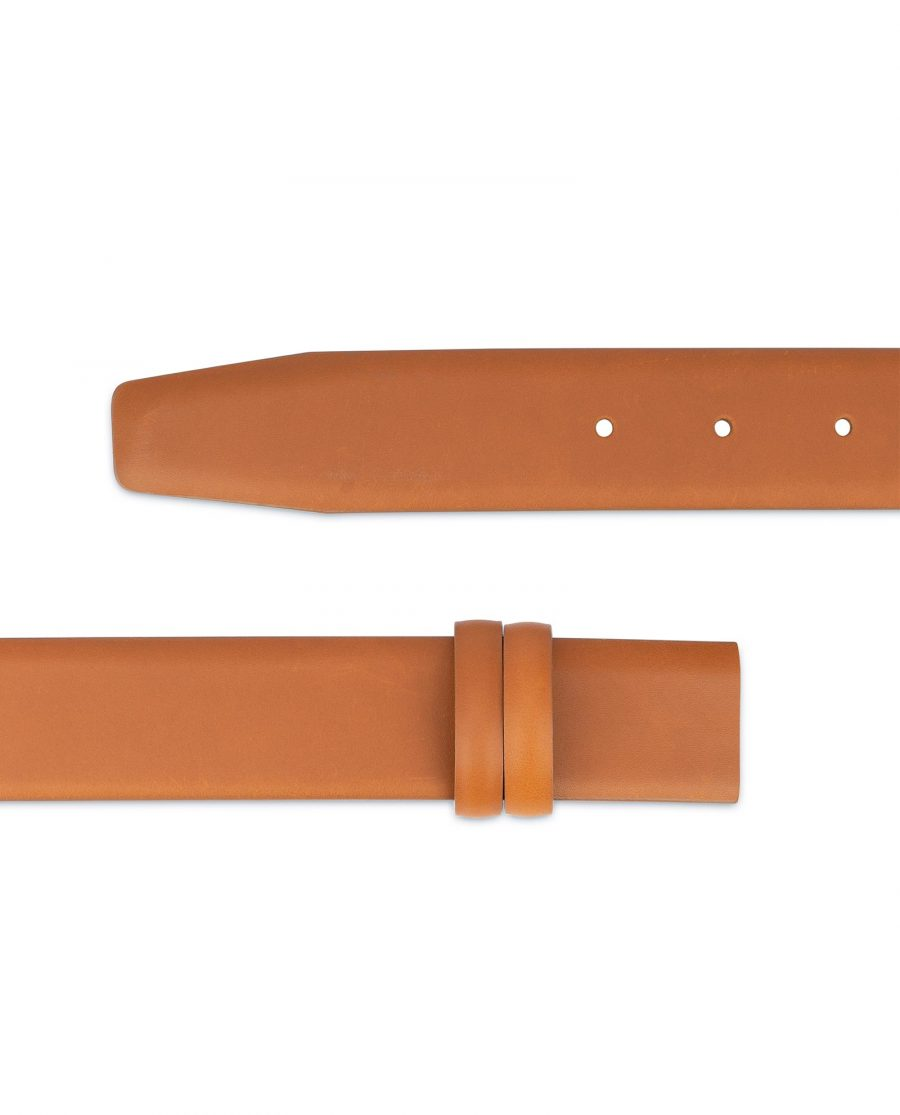 Mens Tan Belt Strap For Buckles Adjustable 2