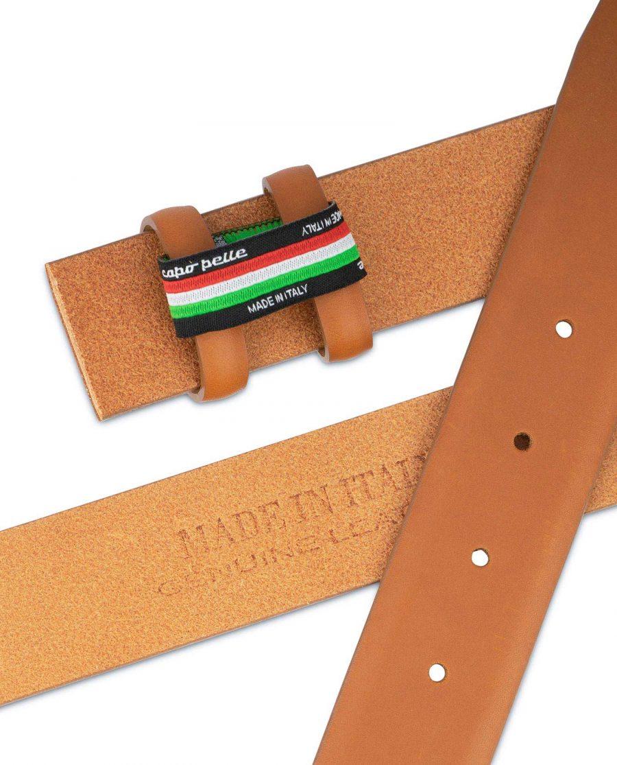 Mens Tan Belt Strap For Buckles Adjustable 3