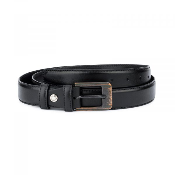 Belt with Copper buckle Real Leather 1