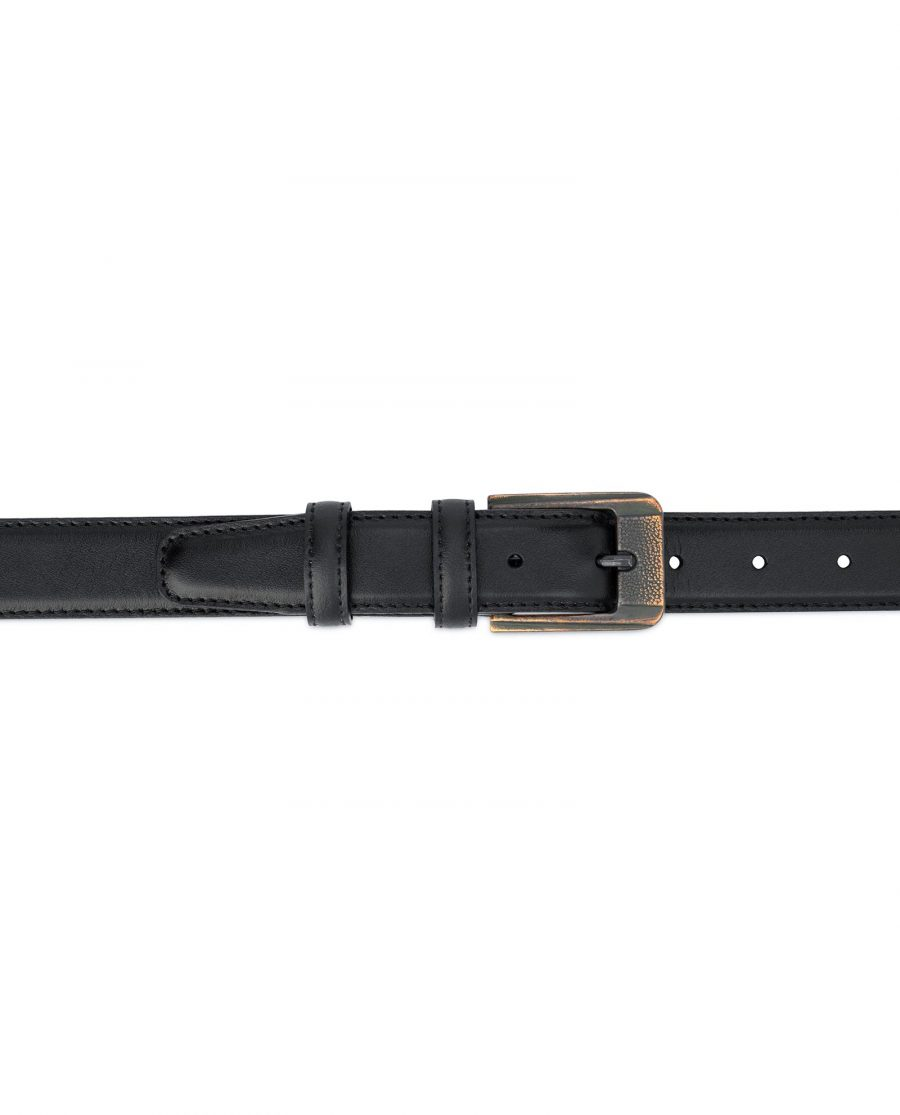 Belt with Copper buckle Real Leather 3