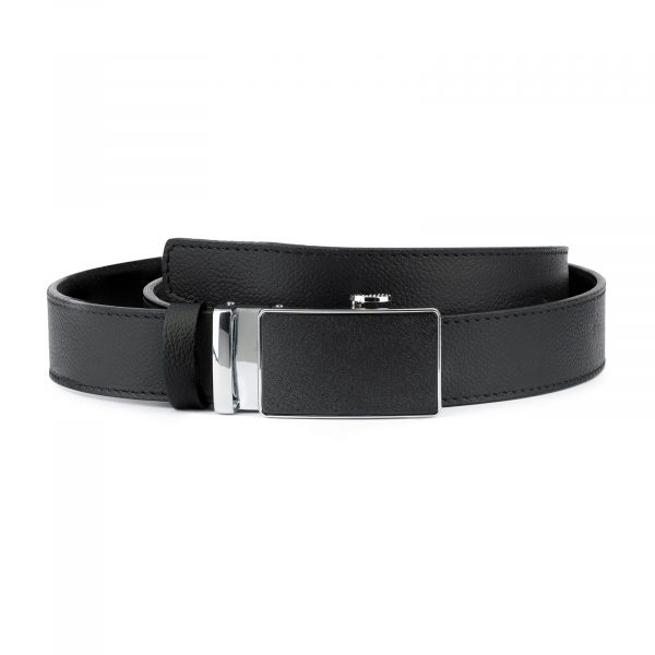 Black Comfort Click Belt For Men 1