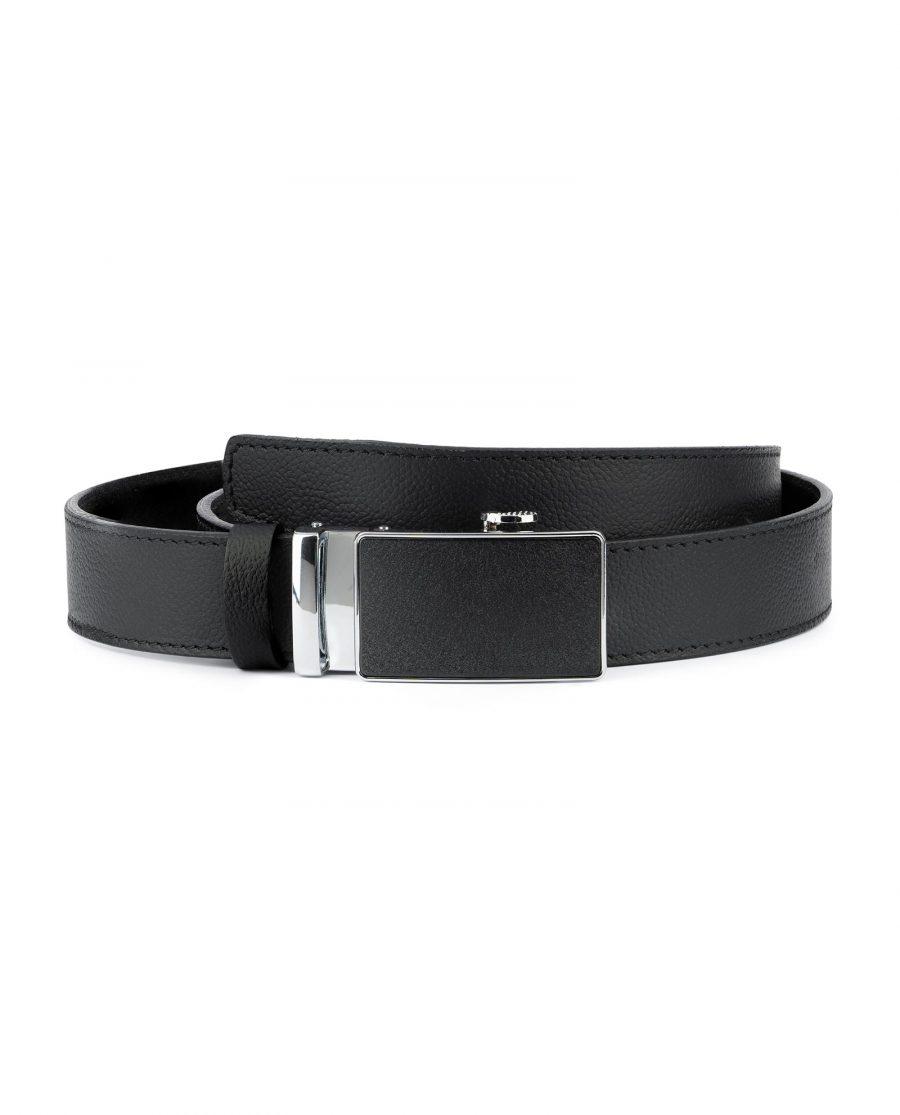 Black Comfort Click Belt For Men 1