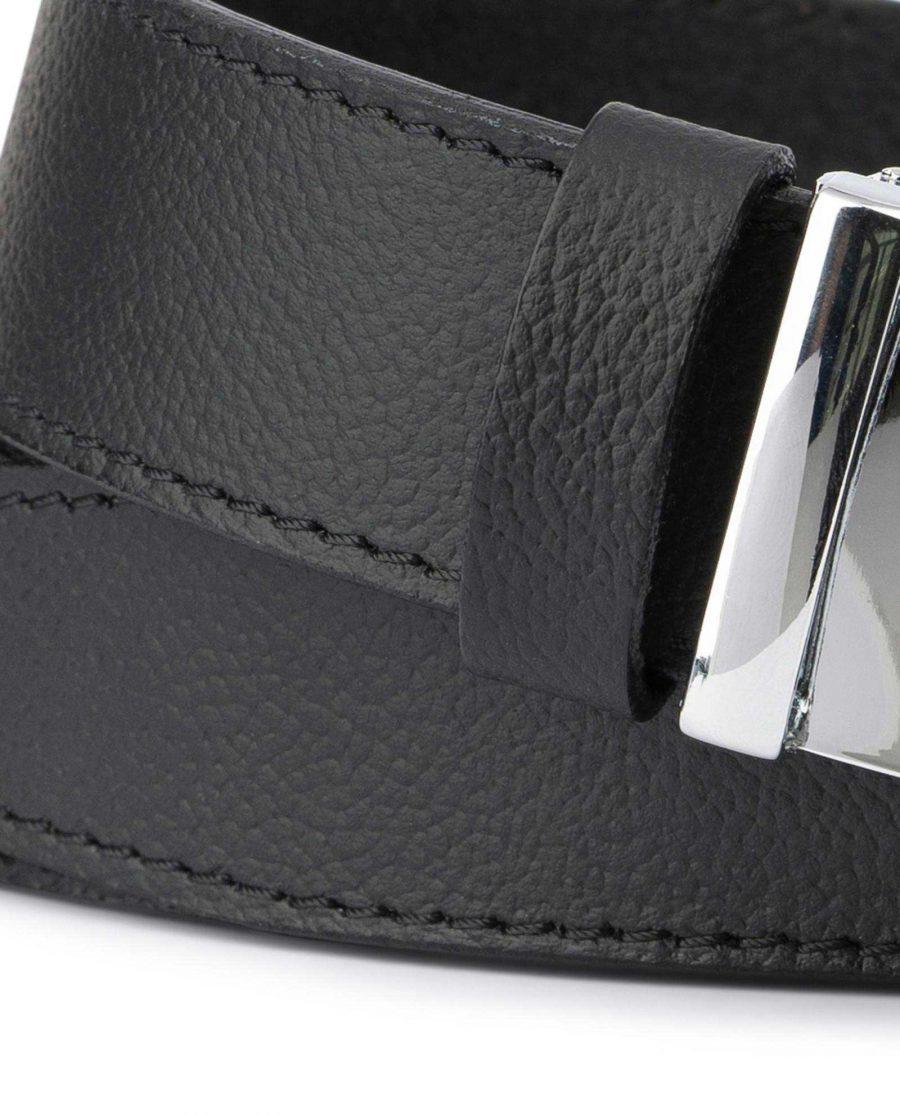 Black Comfort Click Belt For Men 2