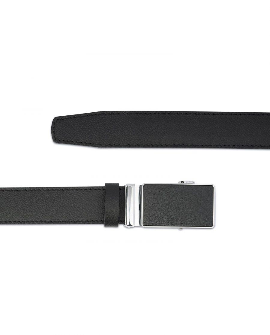 Black Comfort Click Belt For Men 3
