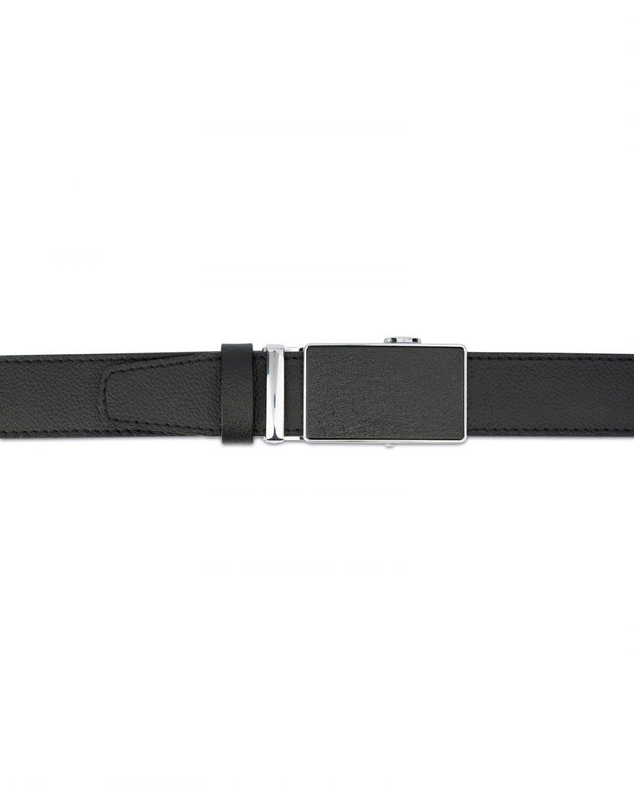 Black Comfort Click Belt For Men 4