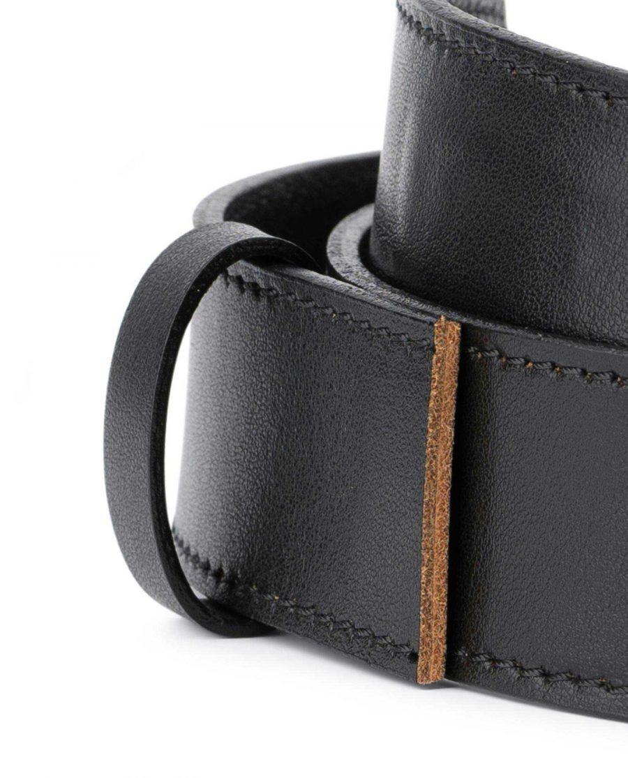 Black Leather Strap for Ratchet Belt 2