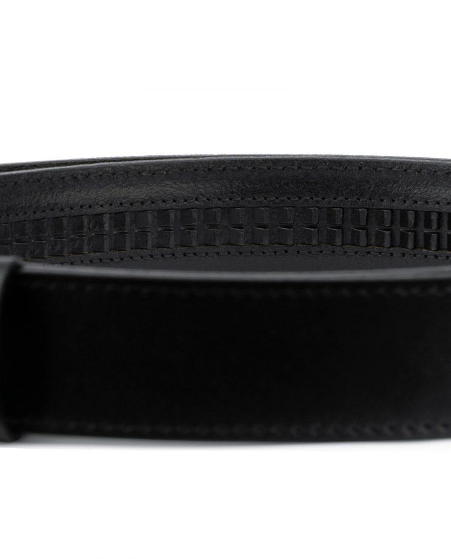 Black Leather Strap for Ratchet Belt 4