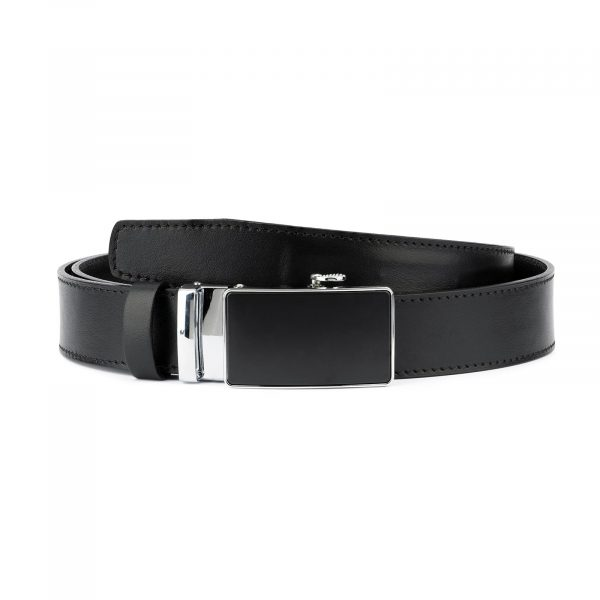Comfort Click Belt for Men Black Leather 1