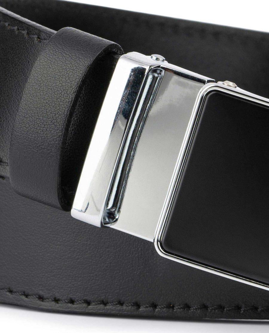 Comfort Click Belt for Men Black Leather 2