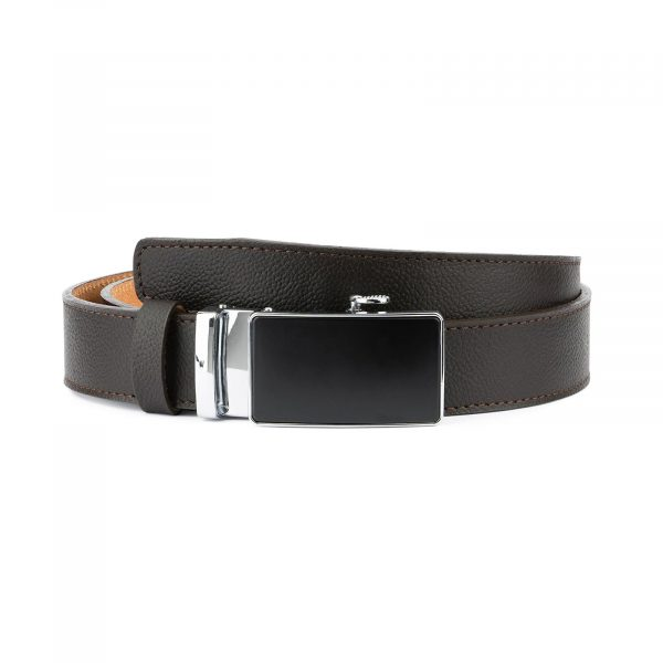 Comfort Click Belt for Men Brown Leather 1