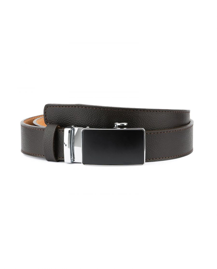 Comfort Click Belt for Men Brown Leather 1