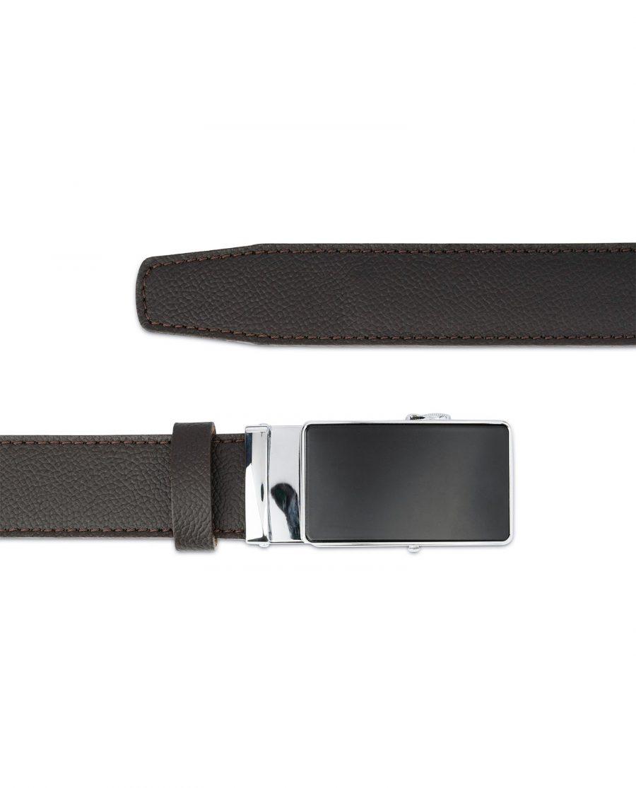 Comfort Click Belt for Men Brown Leather 3